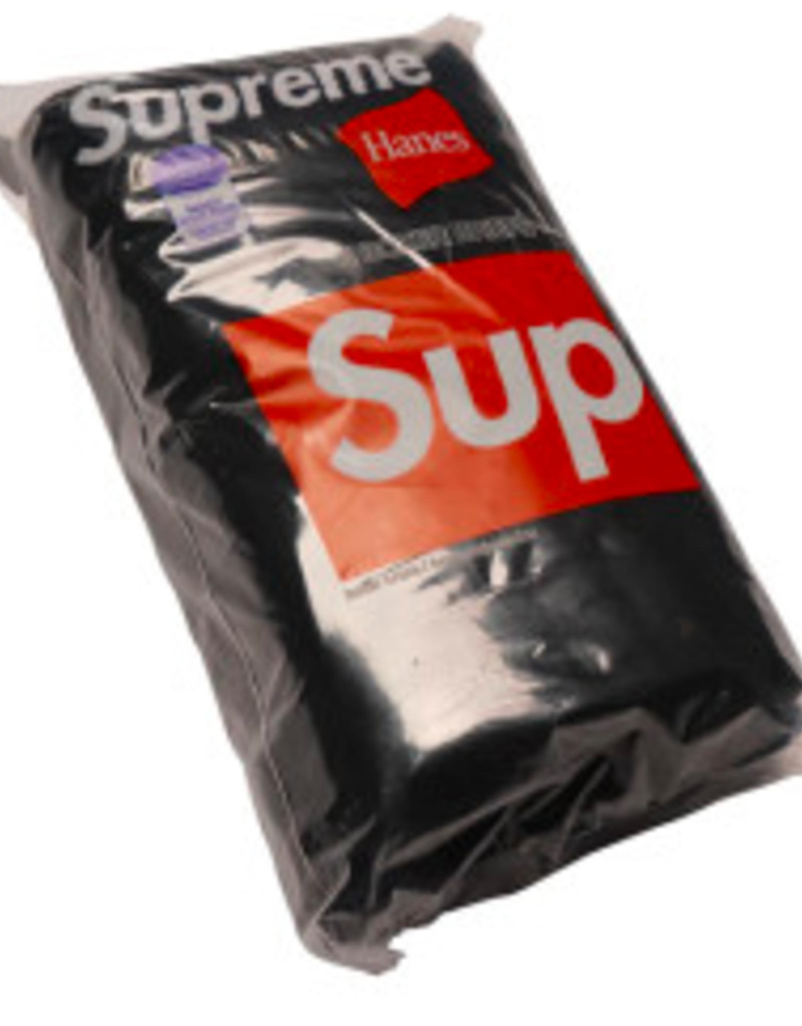 SUPREME Supreme Hanes Boxer (4 Pack) Briefs Black