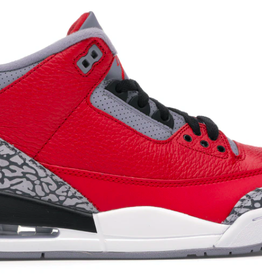 JORDAN 3 Retro Fire Red Cement (Nike Chi)
