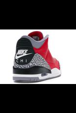 JORDAN 3 Retro Fire Red Cement (Nike Chi)