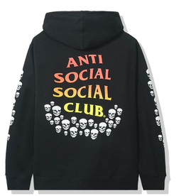 ASSC Anti Social Social Club Tanner Hoodie Black