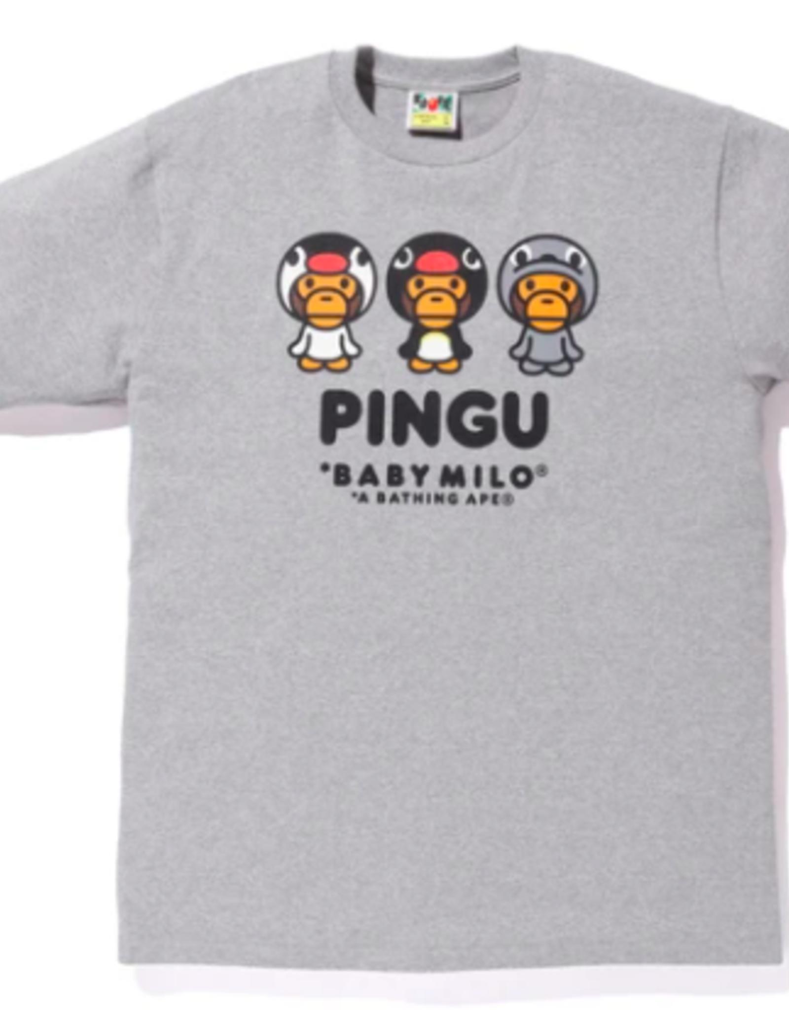 BAPE BABY MILO X PINGU #B TEE