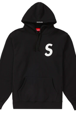 SUPREME Supreme S Logo Hooded Sweatshirt (SS20) Black LARGE