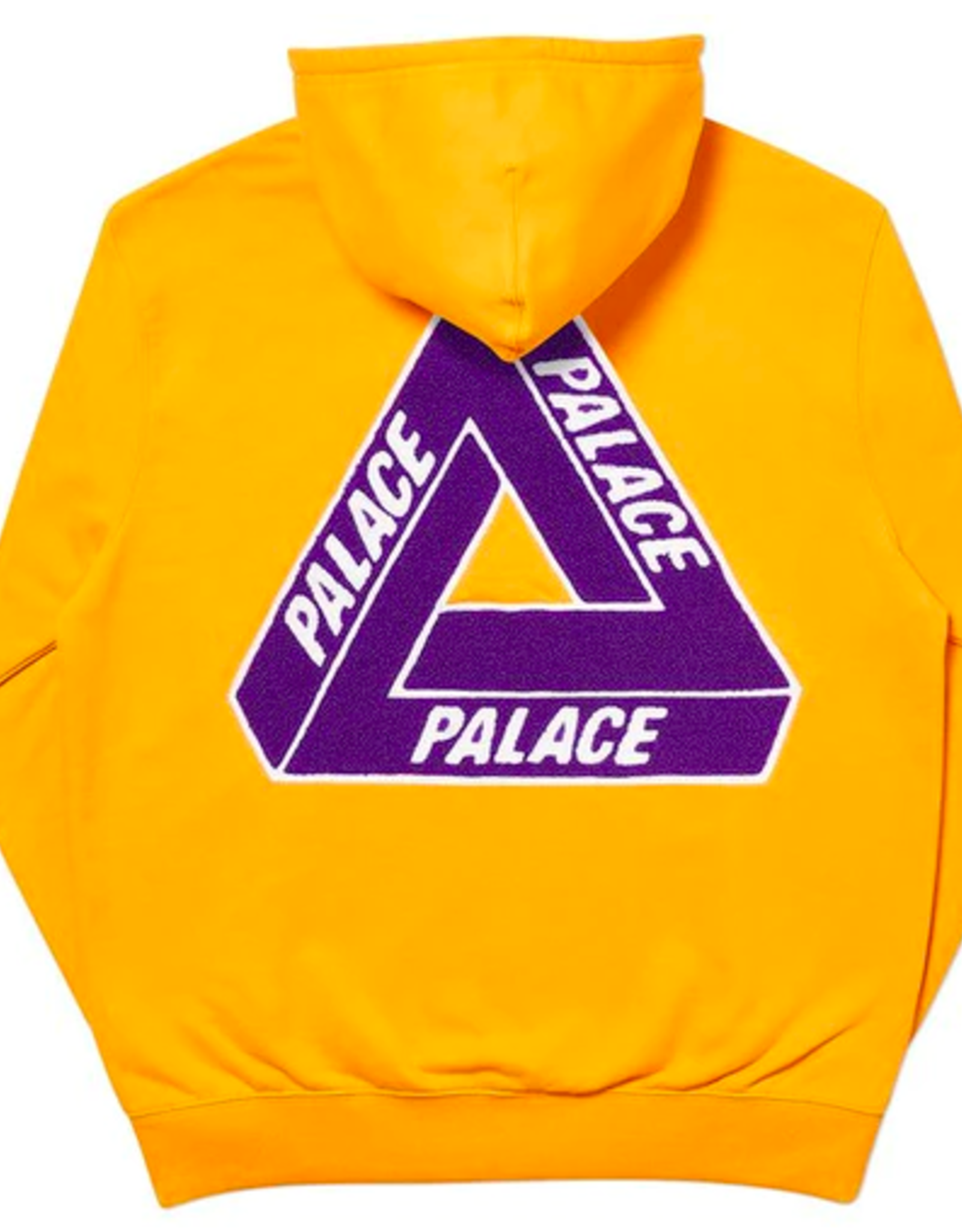 PALACE Palace Tri-Chenille Hood Yellow MED
