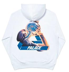 PALACE Tri-Gaine Hood White XL
