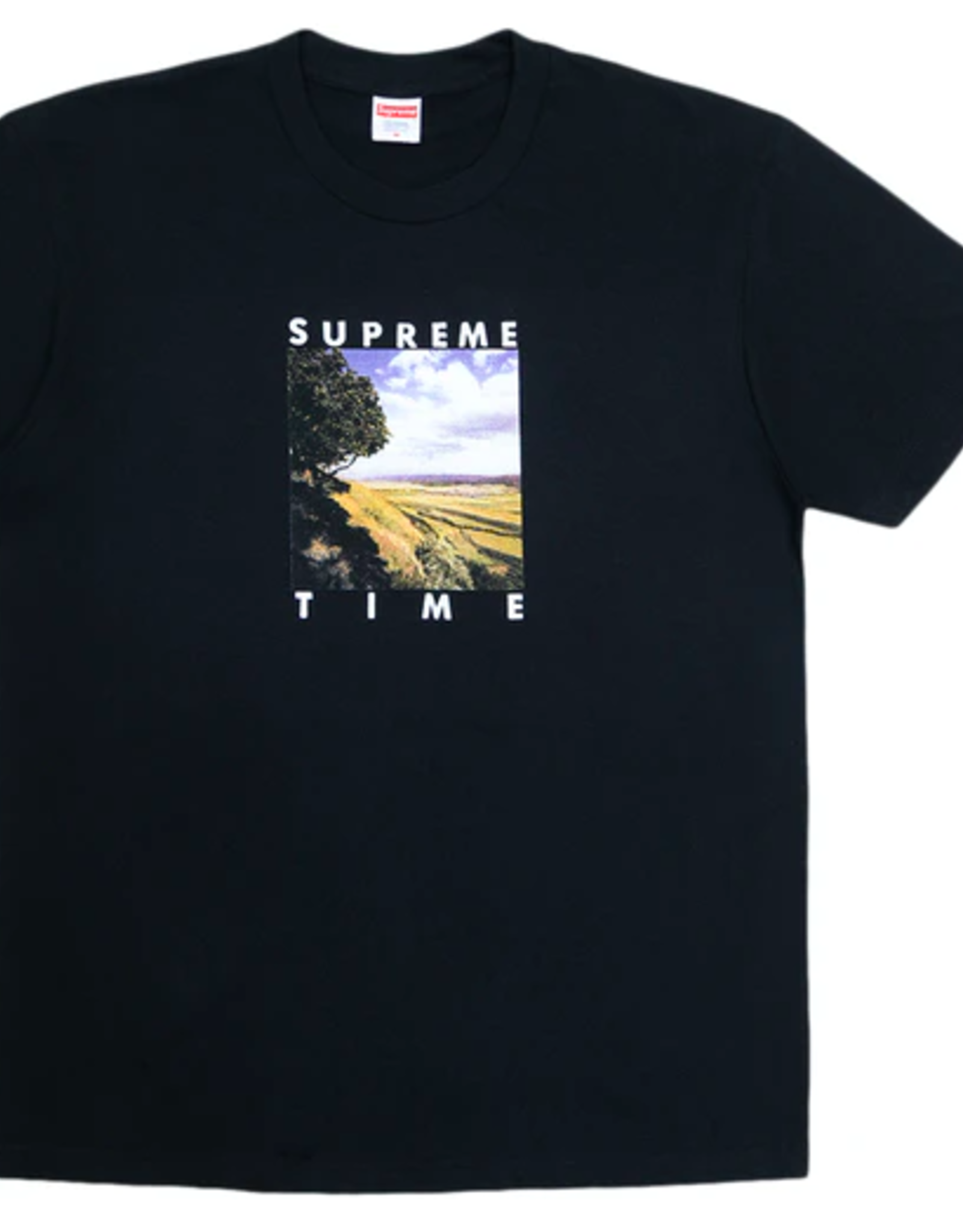 SUPREME Time Tee Black XL
