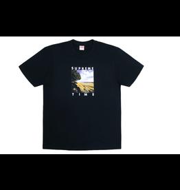 SUPREME Time Tee Black XL