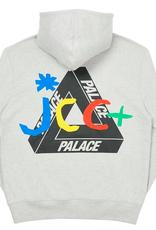 PALACE JCDC2 Hood Grey Marl LARGE