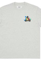 PALACE JCDC2 T-Shirt Grey Marl LARGE