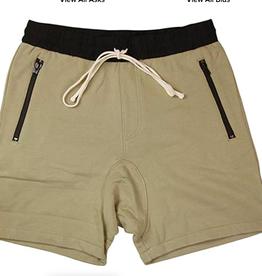 FOG Essentials Drawstring Shorts Chinchilla WORN SMALL