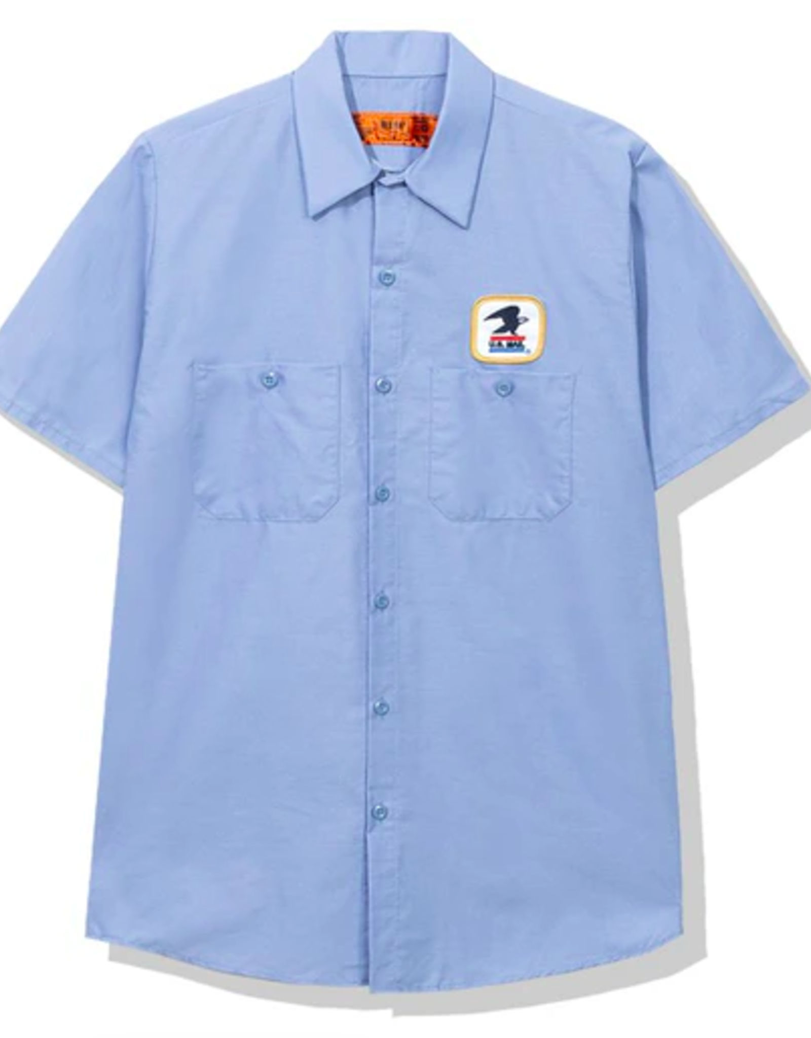 ASSC x USPS Work Shirt Light Blue