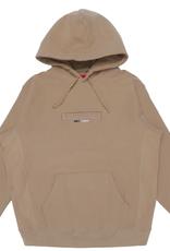 SUPREME Supreme Embossed Logo Hooded Sweatshirt (SS18) Light Brown XL