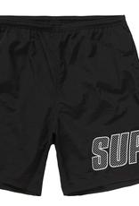 SUPREME Supreme Logo Applique Water Short Black - Large