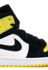 JORDAN 1 Mid Yellow Toe Black