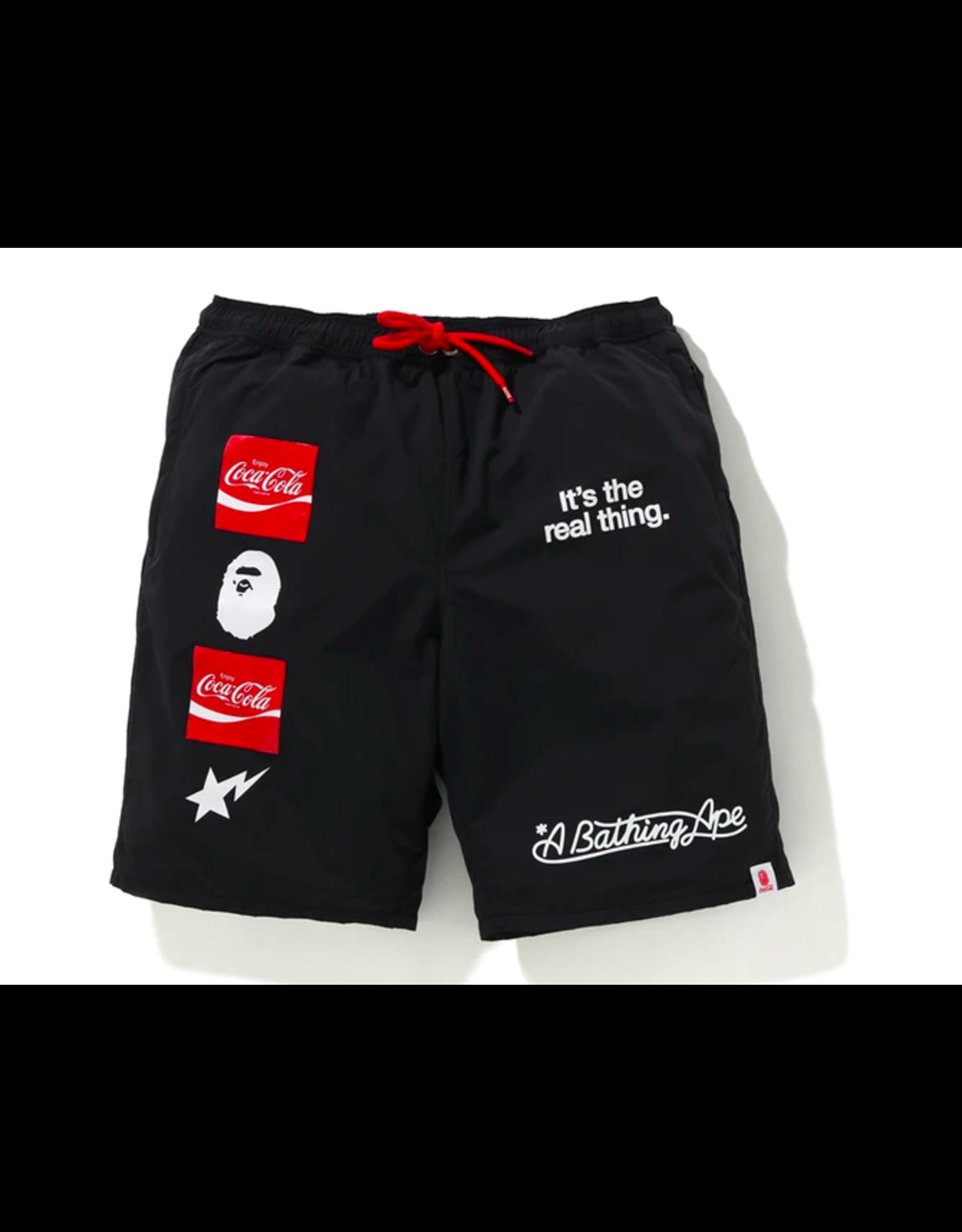 BAPE BAPE x Coca Cola Shorts Black XL