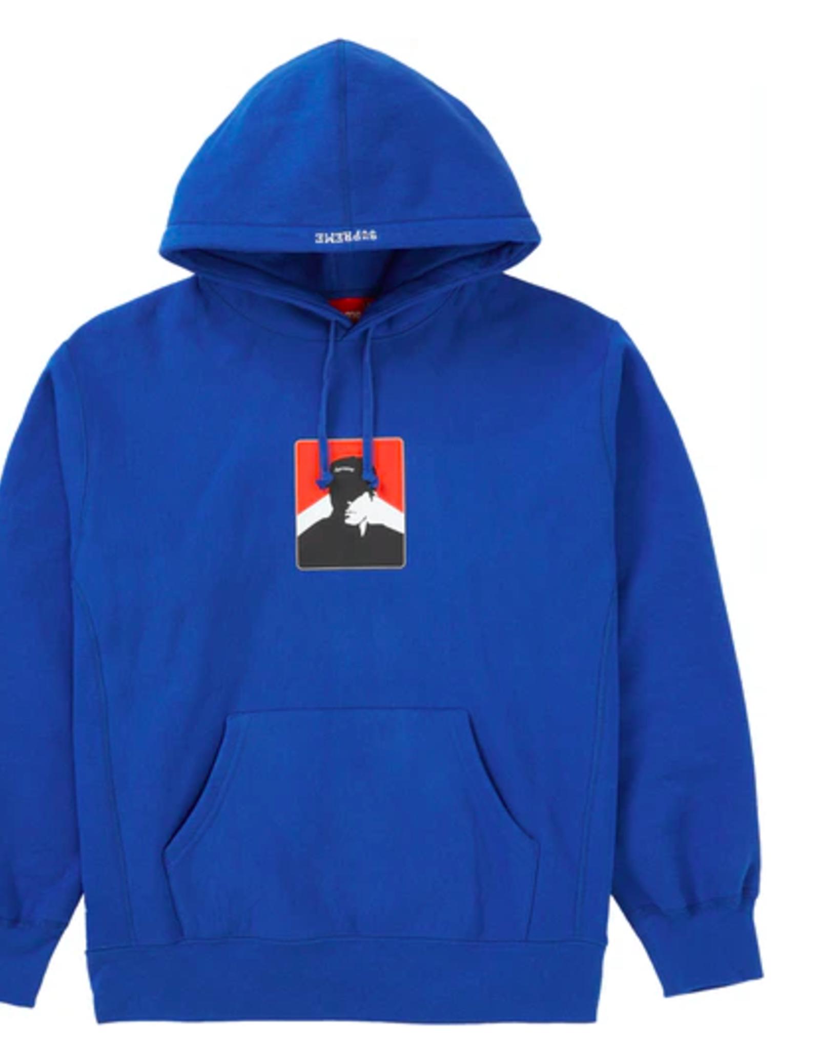 SUPREME Supreme Portrait Hooded Sweatshirt (FW20) Royal LG