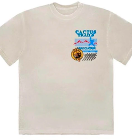 TRAVIS SCOTT Travis Scott Cactus Trails Assn T-Shirt Cream