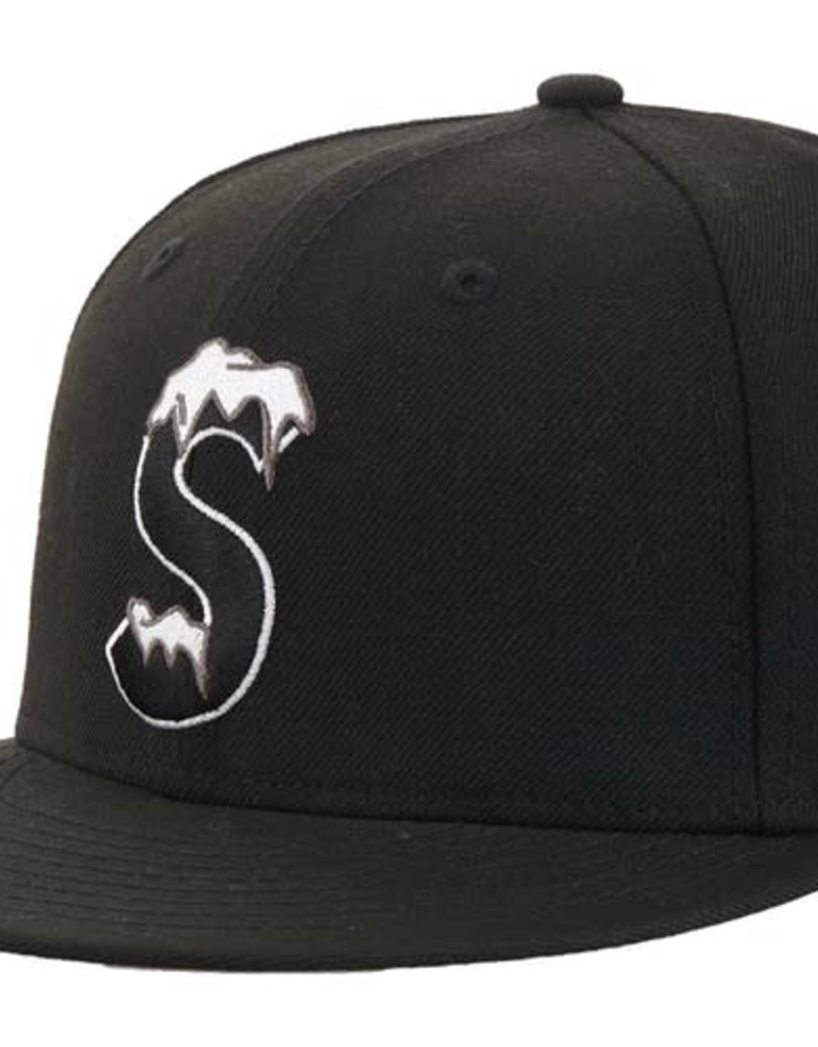 SUPREME S Logo New Era Black