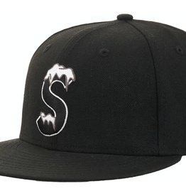 SUPREME S Logo New Era Black
