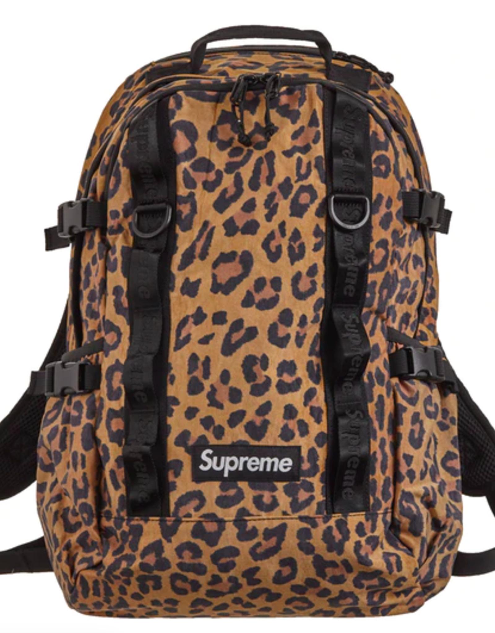 SUPREME Supreme Backpack (FW20) Leopard