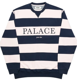 PALACE Palace Pour Don Crew Pink - LARGE