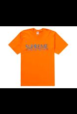 SUPREME Nuova York Tee Orange MED