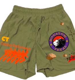 TRAVIS SCOTT Travis Scott Running Wild Shorts Olive