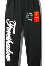ASSC Anti Social Social Club x CPFM Sweatpants Black