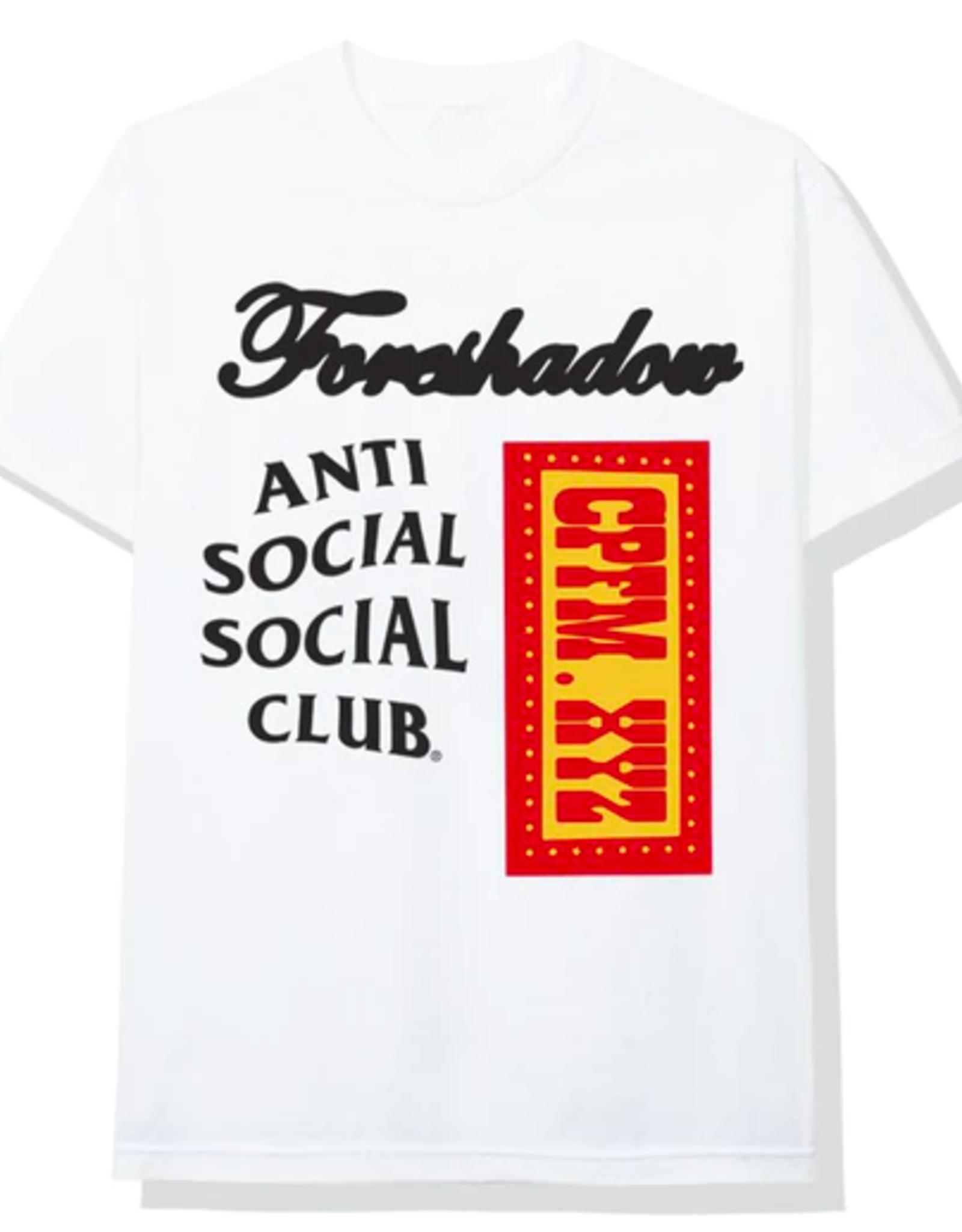 ASSC Anti Social Social Club x CPFM Tee White