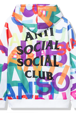 ASSC Anti Social Social Club Headrush All Over Hoodie White