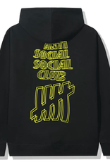 ASSC Anti Social Social Club x Undefeated Hoodie Black