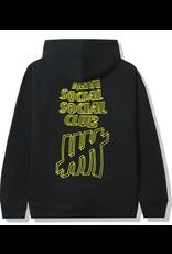 ASSC Anti Social Social Club x Undefeated Hoodie Black
