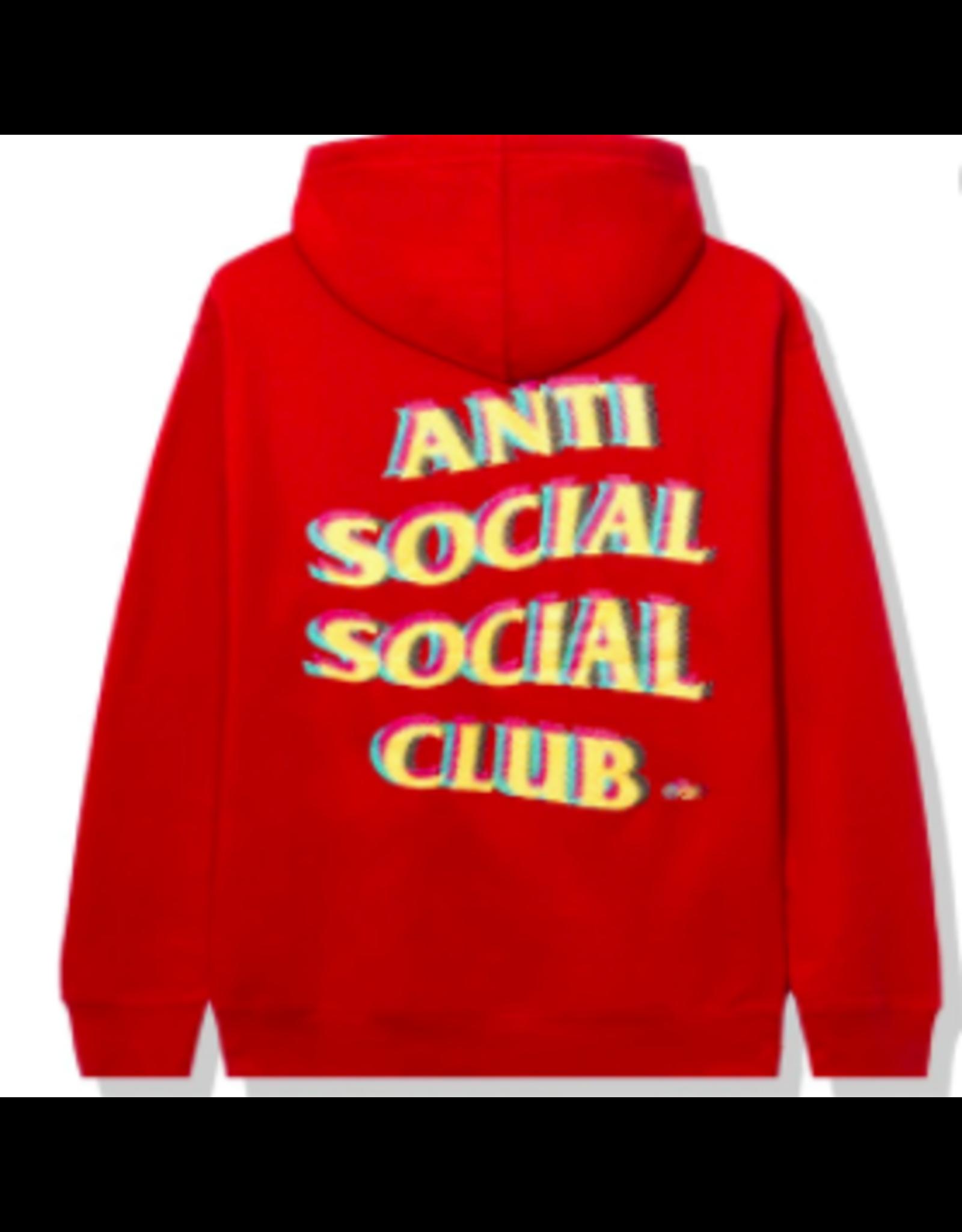 ASSC Anti Social Social Club Stir Crazy Hoodie Red