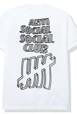 ASSC Anti Social Social Club x Undefeated Tee White