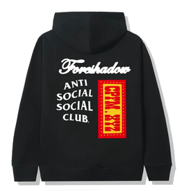ASSC Anti Social Social Club x CPFM Hoodie Black