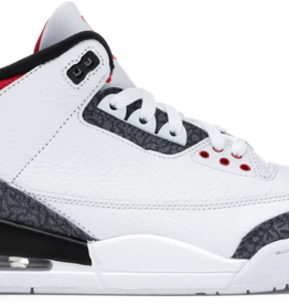 JORDAN Jordan 3 Retro SE Fire Red Denim (2020)