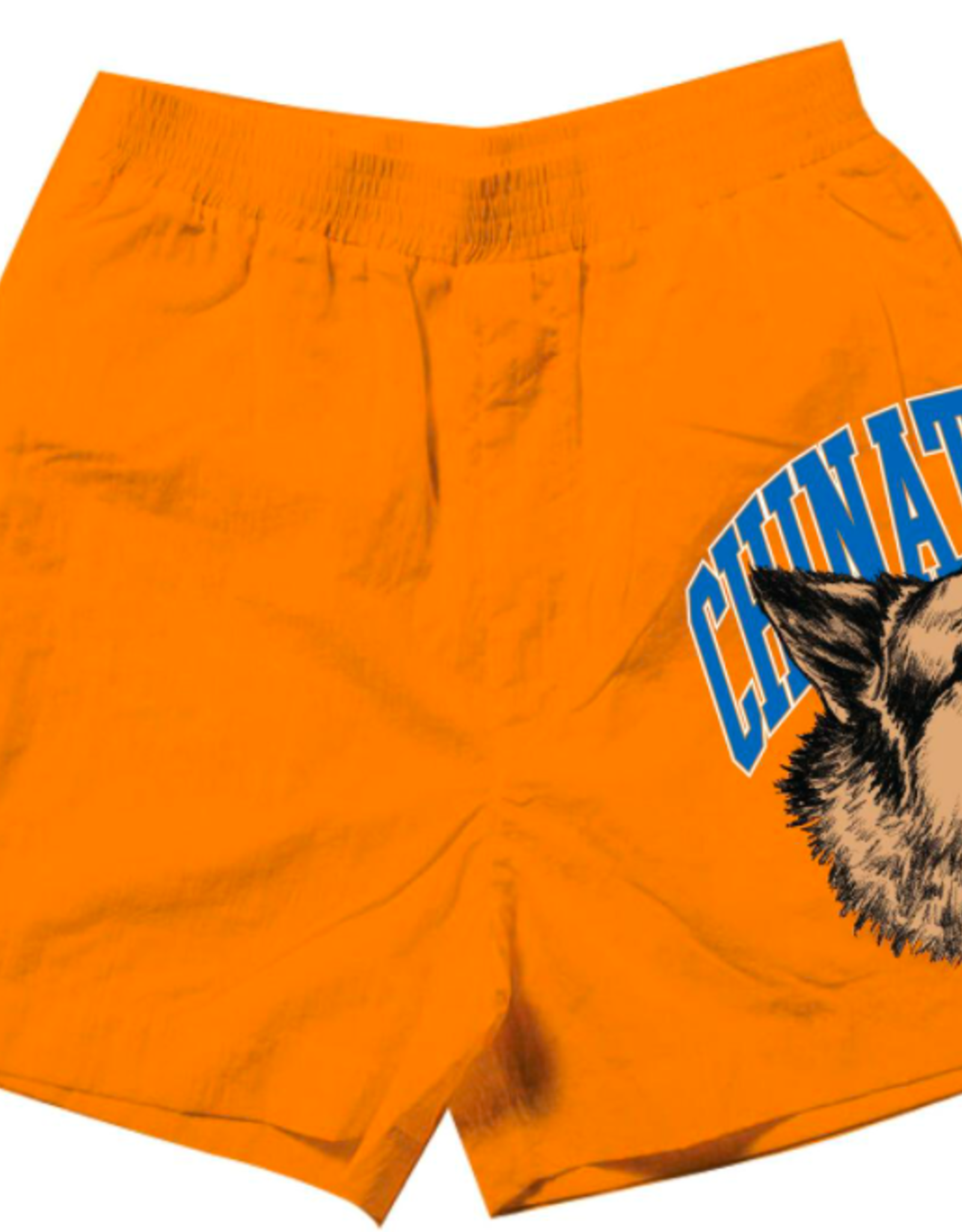 BEWARE SWEATSHORTS ORANGE