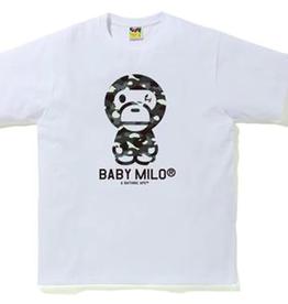 BAPE BAPE CITY CAMO BABY MILO TEE WHITE