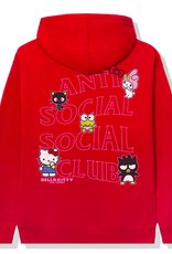 ASSC x Hello Kitty and Friends Hoodie Red