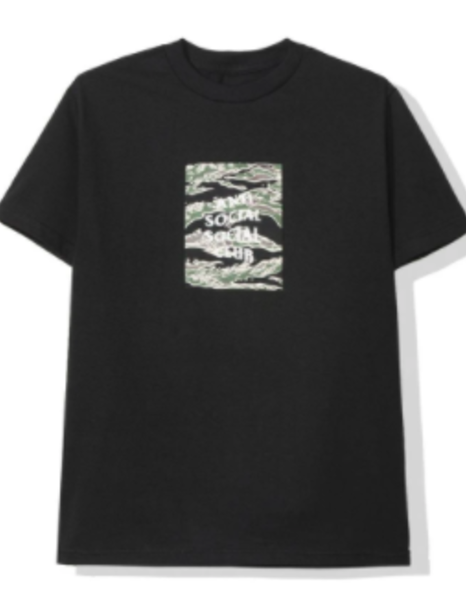 ASSC Tiger Camo Black Box Tee
