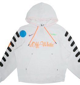 NIKE Nikelab x OFF-WHITE Mercurial NRG X Hoodie White - Large