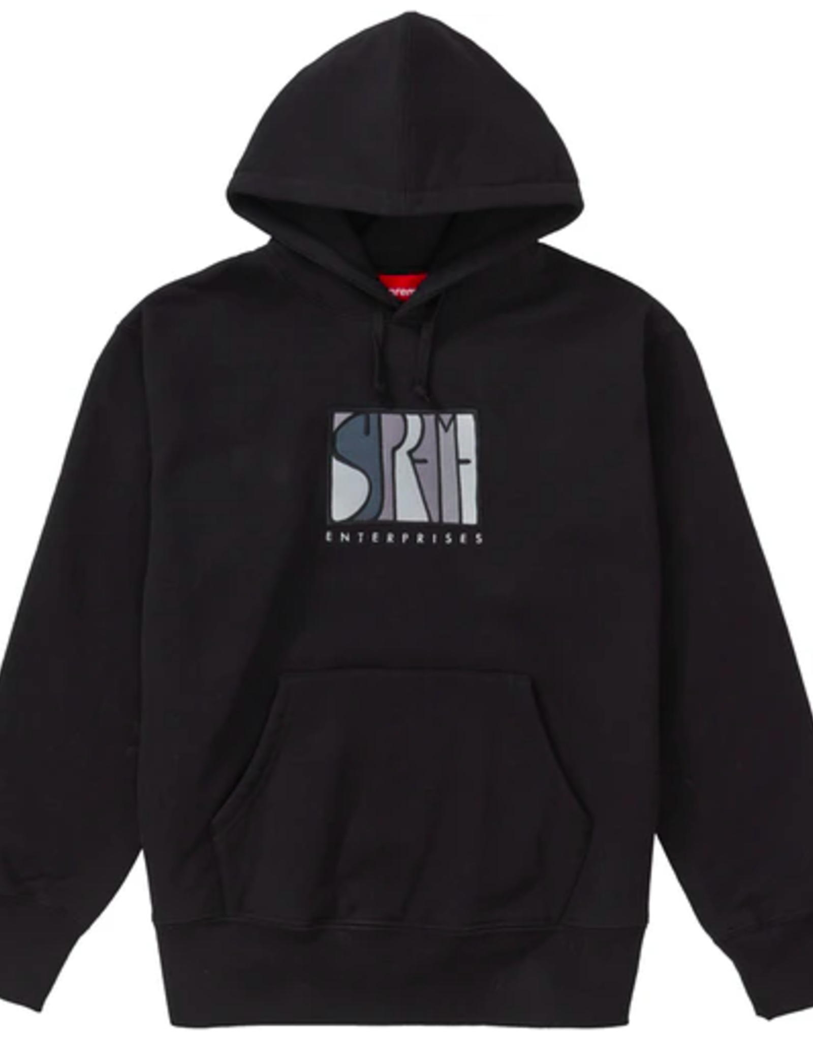 SUPREME Supreme Enterprises Hooded Sweatshirt Black - Medium