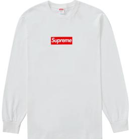SUPREME Supreme Box Logo L/S Tee White - Small