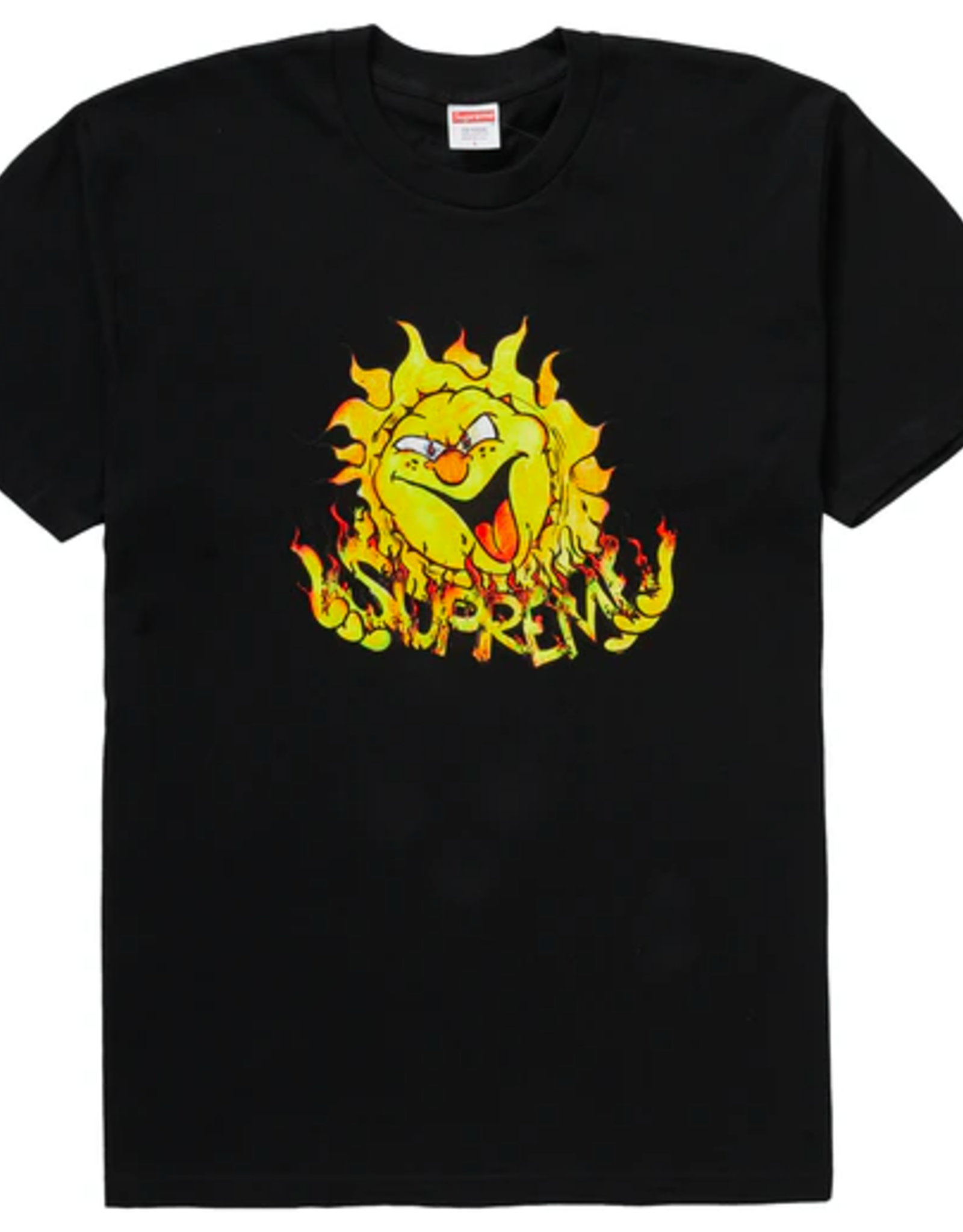 SUPREME Supreme Sun Tee Black - Medium
