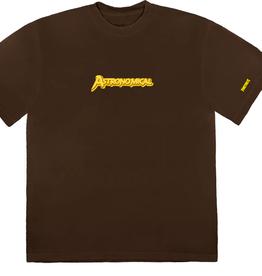 TRAVIS SCOTT Travis Scott Astro Diamond Jack T-Shirt Brown - Large