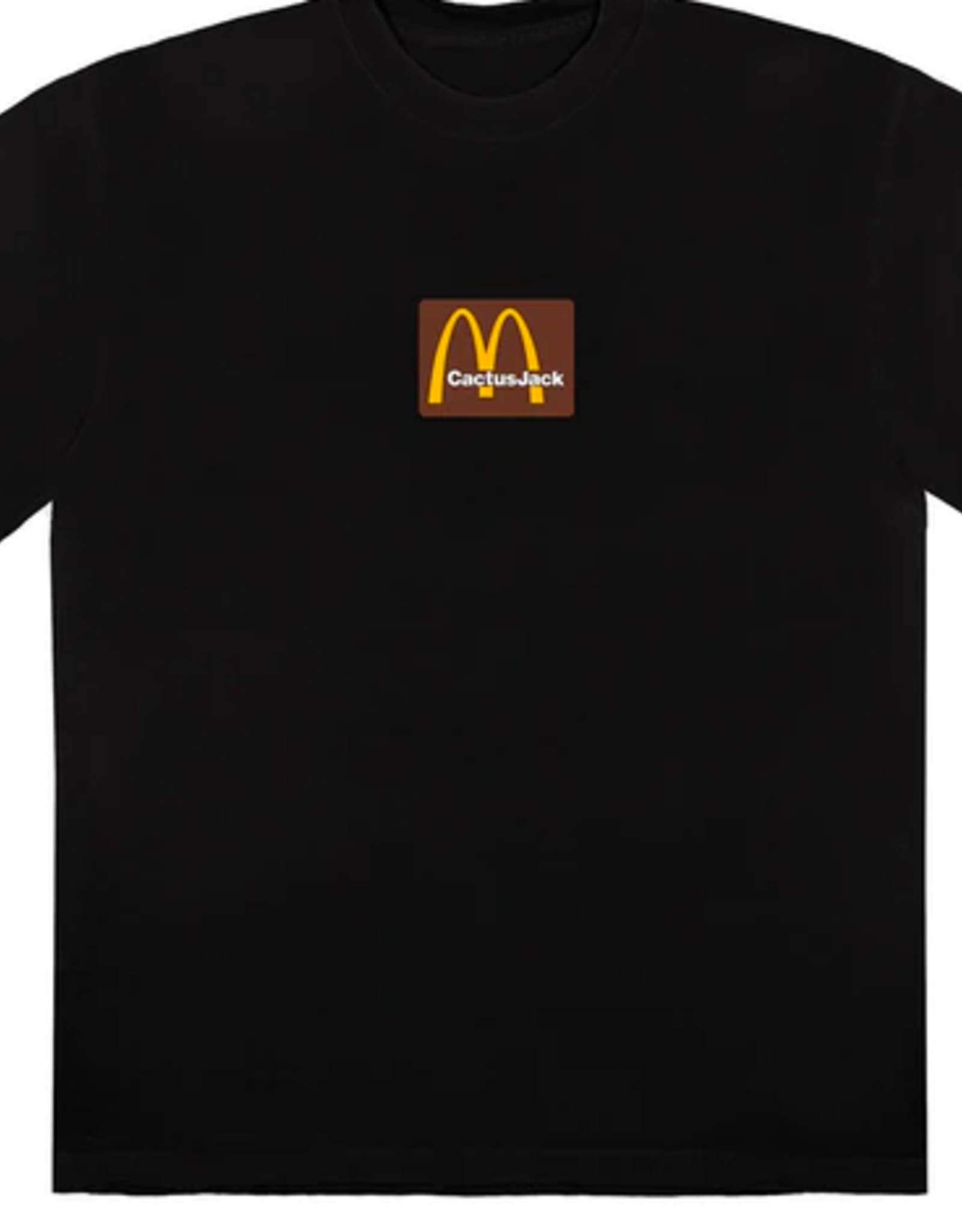 TRAVIS SCOTT Travis Scott x McDonald's Sesame Inv T-Shirt Black/Brown