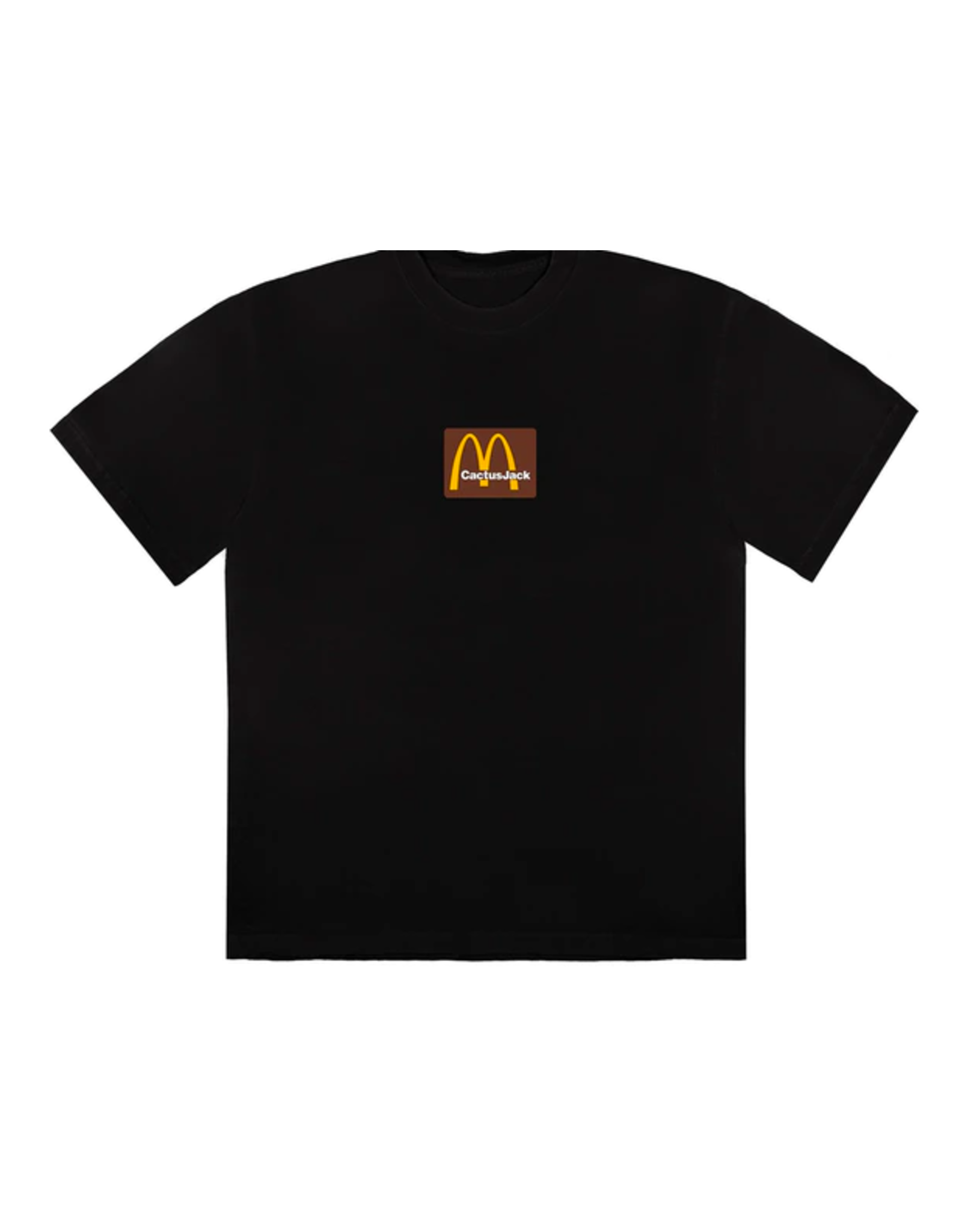 TRAVIS SCOTT Travis Scott x McDonald's Sesame Inv T-Shirt Black/Brown