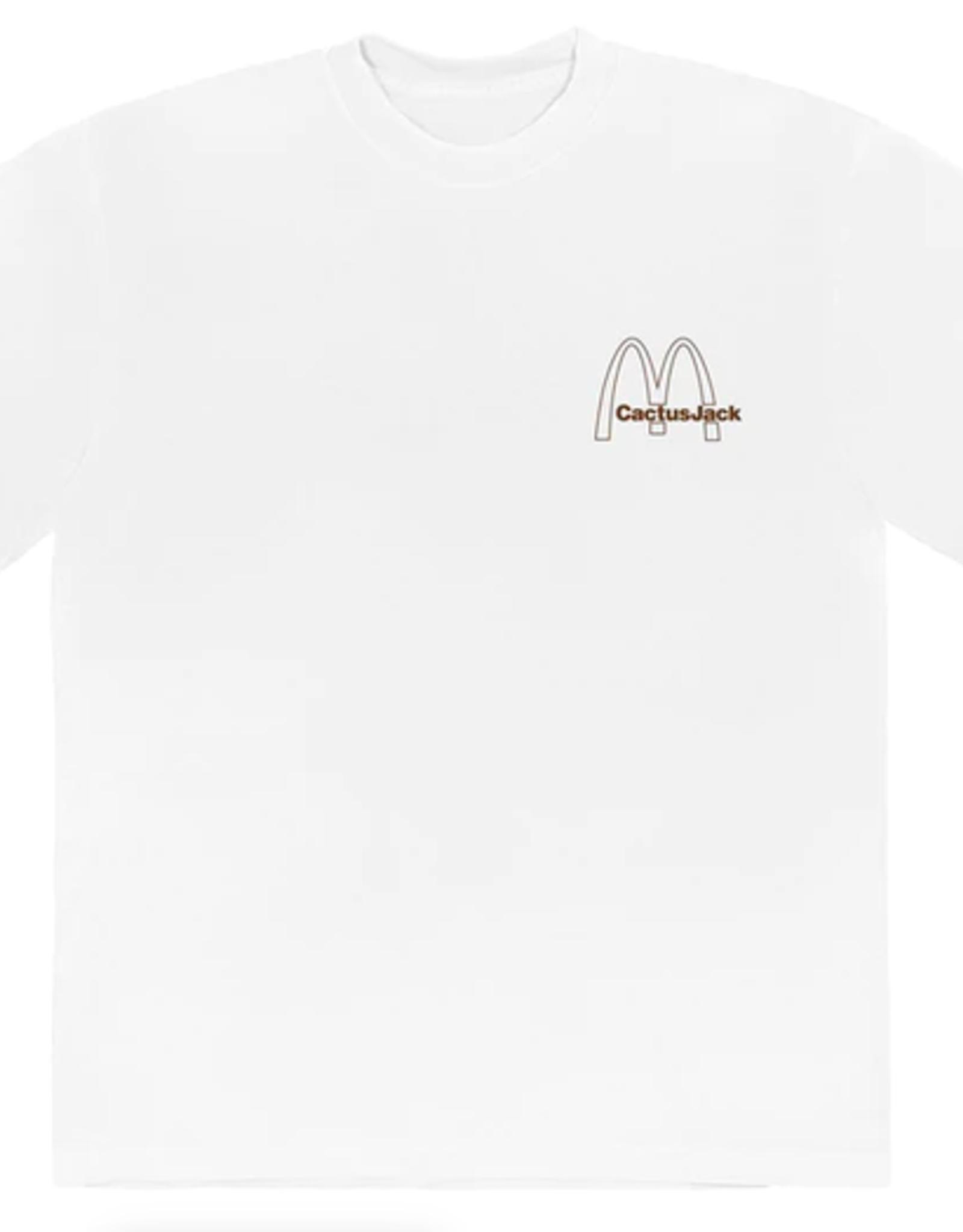 TRAVIS SCOTT Travis Scott x McDonald's Vintage Action T-Shirt White
