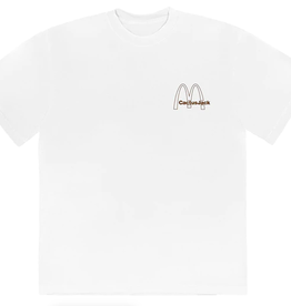 TRAVIS SCOTT Travis Scott x McDonald's Vintage Action T-Shirt White