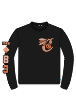 COOKIES TOP OF THE KEY COTTON JERSEY L/S