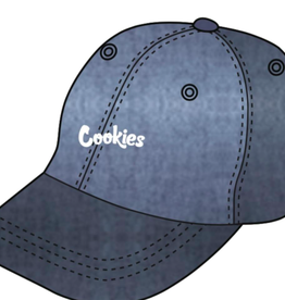 COOKIES ORIGINAL MINT CHAMBRAY DENIM EMBROIDERED DAD HAT